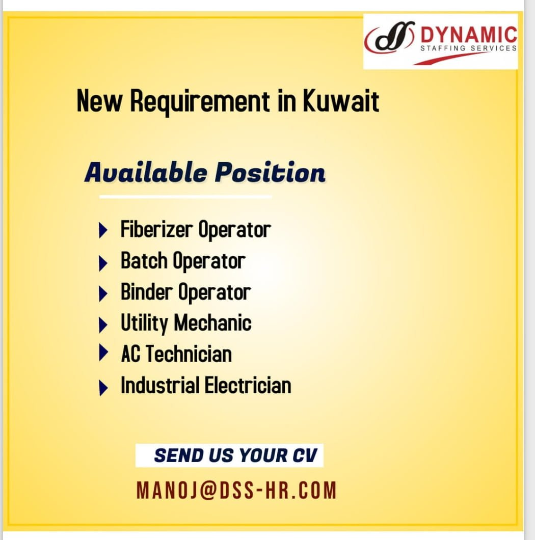 New Requirement in Kuwait
