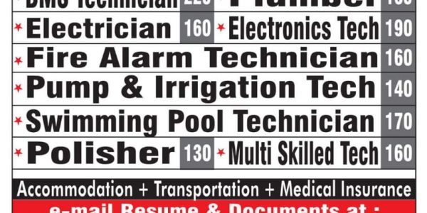 REQUIRED for Facility Management- OMAN