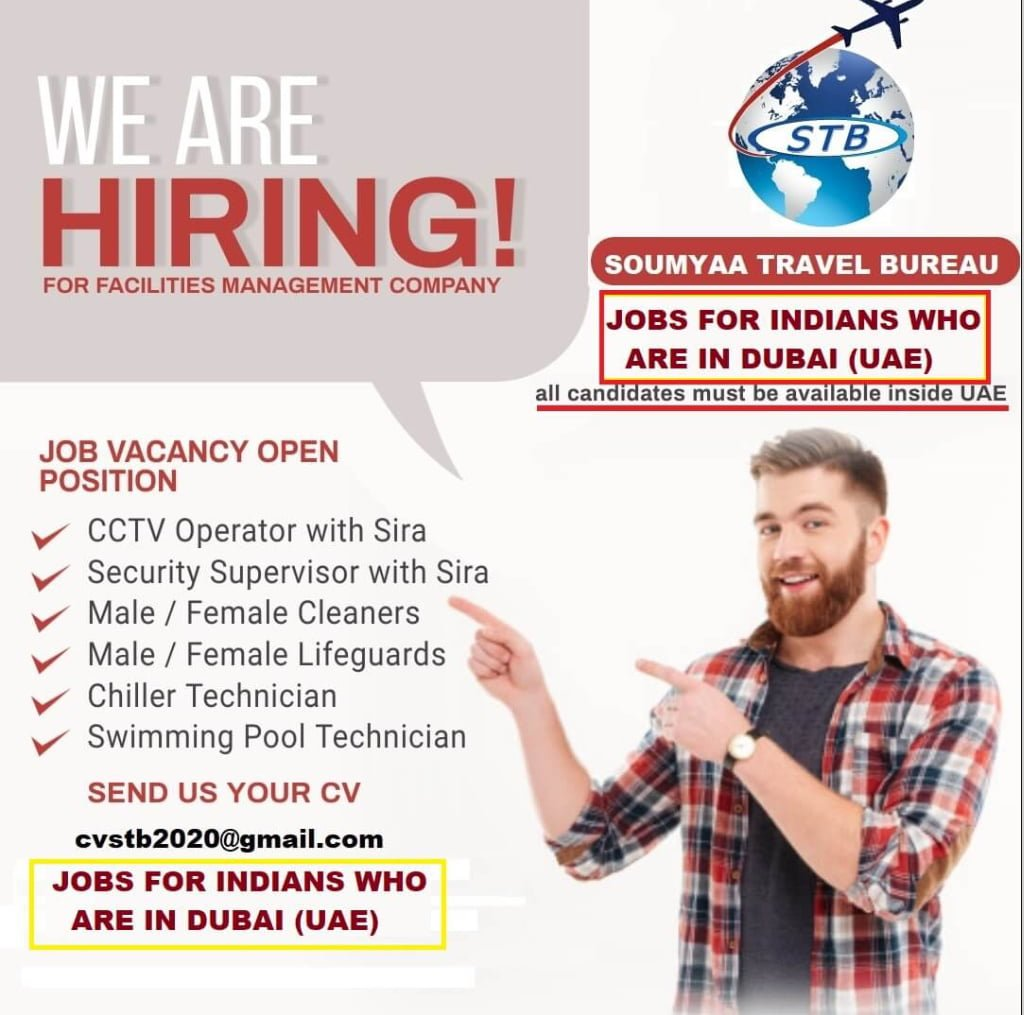 WE ARE HIRING FOR FACILITY MANAGEMENT COMPANY-DUBAI
