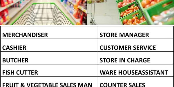 REQUIRED FOR A LEADING SUPER MARKET IN OMAN/UAE