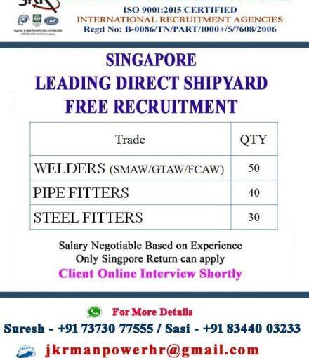 SINGAPORE LEADING DIRECT SHIPYARD