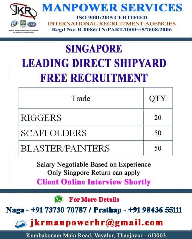SINGAPORE LEADING DIRECT SHIPYARD
