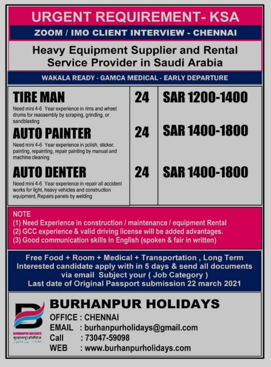 HEAVY EQUIPMENT SUPPLIER AND RENTAL SERVICE PROVIDER IN SAUDI ARABIA