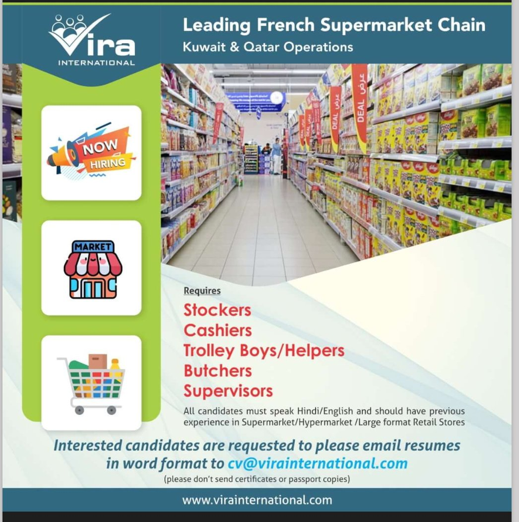 LEADING FRENCH SUPERMARKET CHAIN KUWAIT & QATAR OPERATIONS