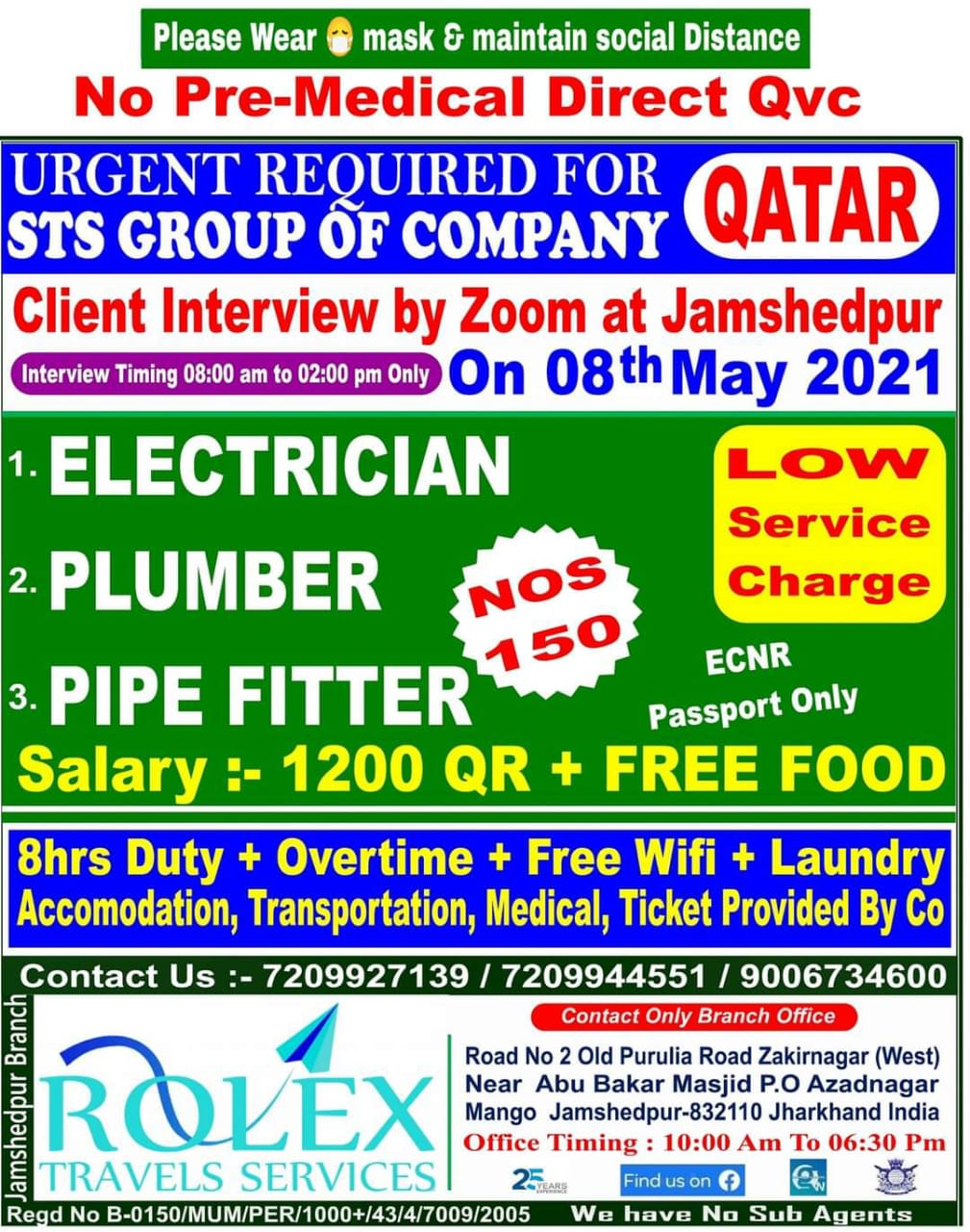 URGENTLY REQUIRED FOR STS GROUP OF COMPANY