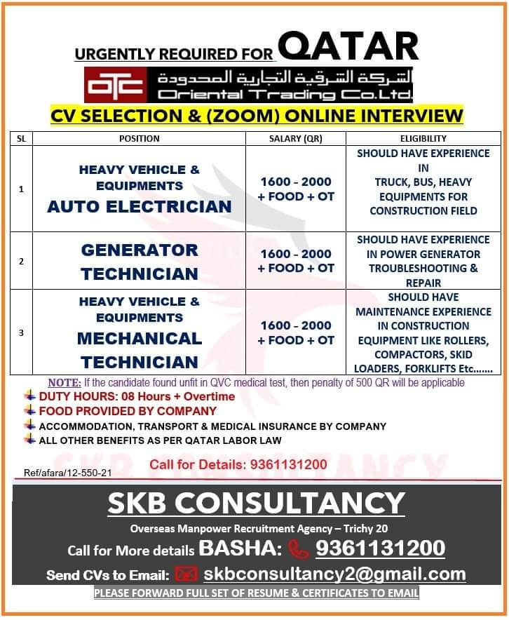 URGENTLY REQUIRED FOR ATAR