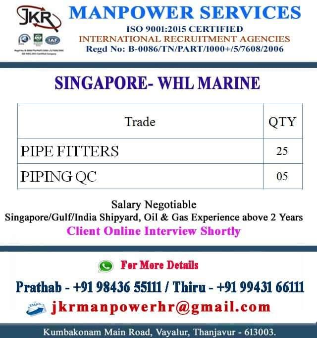 SINGAPORE-WHL MARINE
