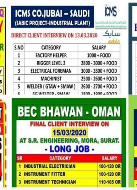 Electrical Engineering Jobs In Gulf