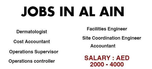 JOBS IN DUBAI walk in interview