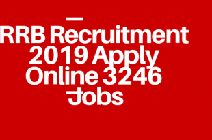 RRB Recruitment Group D 2019