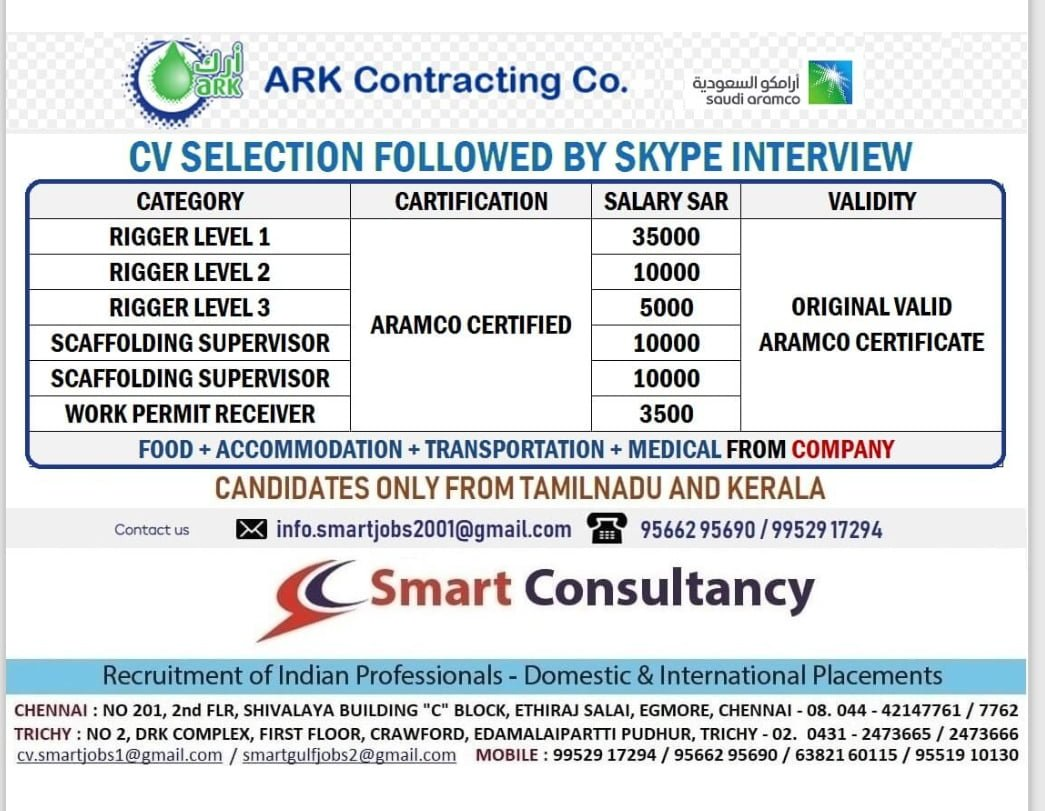 ARK CONTRACTING CO.SAUDI ARABIA