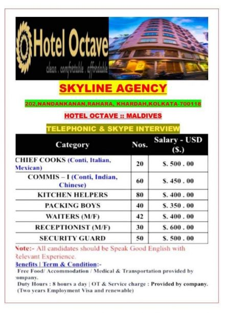 URGENTLY REQUIRED FOR A SKYLINE AGENCY