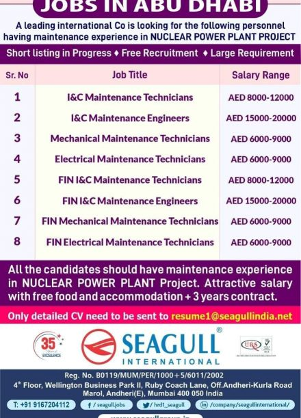REQUIREMENT FOR NUCLEAR POWER PLANT PROJECT