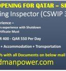 URGENT OPENING FOR QATAR-SHUTDOWN