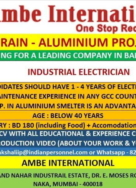 REQUIREMENT FOR A LEADING COMPANY ALUMINIUM PROJECT