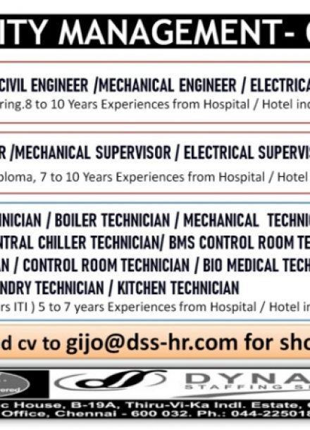 REQUIREMENT FOR FACILITY MANAGEMENT-OMAN