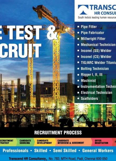 REQUIREMENT FOR TRANSCEND HR CONSULTANCY