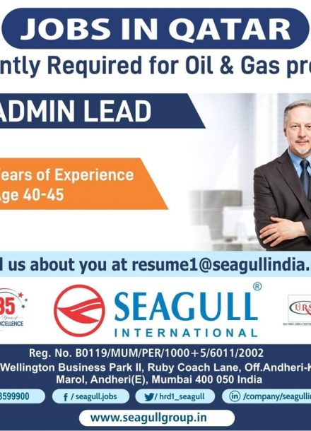 URGENTLY REQUIRED FOR OIL & GAS PROJECT