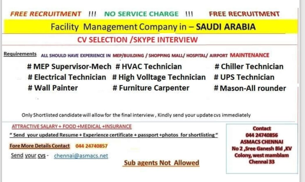 FACILITY MANAGEMENT-SAUDI ARABIA